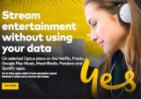 Optus boosts unmetered mobile entertainment streaming