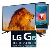 UPDATED: LG offers free 43-inch Smart TV to flog G6 smartphone via Telstra