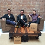 BeerBud co-founders Andy Williamson, Alex Gale & Mark Woollcott