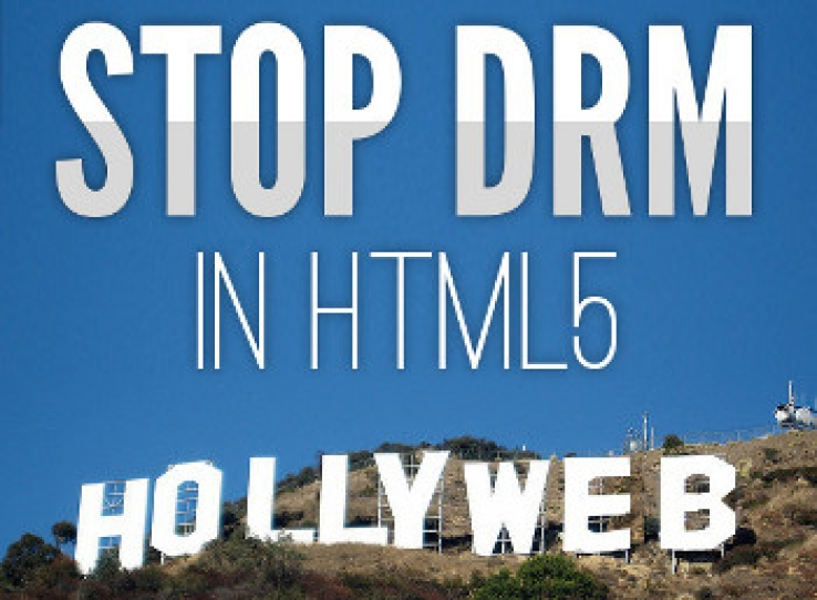 FSF campaigns against standardisation of DRM