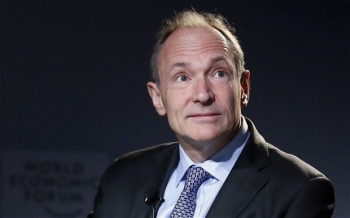 British scientist and founder of the Internet Tim Berners-Lee