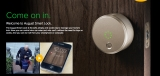 August opens up its smart lock for customers worldwide
