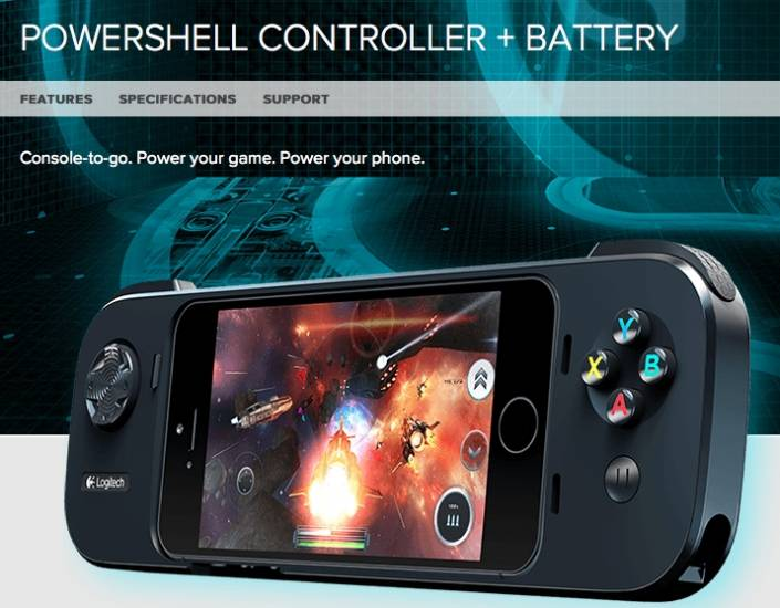 Logitech's new gaming controller for iPhone 5, 5s but not 5c!