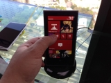 A Windows Phone 8 smartphone - at the Australian launch