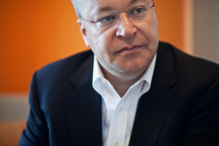 Nokia chief Stephen Elop