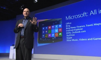 Steve Ballmer - Windows 8 launch - New York