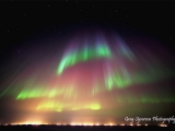 Aurora over Prudhoe Bay, Alaska.