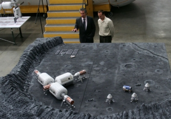 Bigelow's Moon base will likely use inflatable modules.