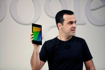 Hugo Barra with the new Nexus