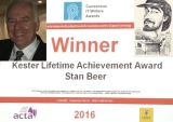 FULL VIDEOS: iTWire Editor-in-Chief Stan Beer wins Kester Lifetime Achievement award