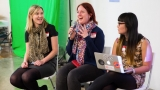 Tammy Butow, Amanda Watts and Lisy Kane from Girl Geek Academy