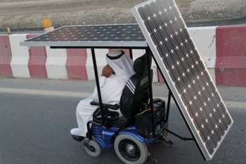 A 2010 solar-power wheelchair- can you do better?