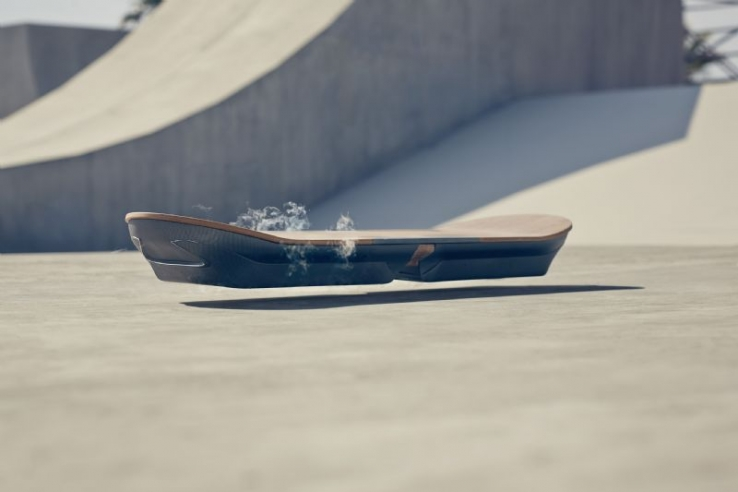 Video: Lexus creates the hoverboard