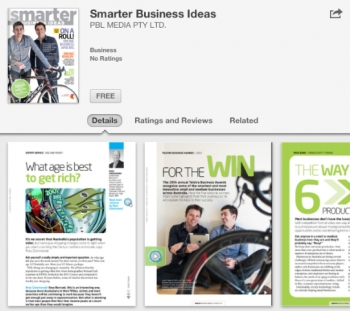 Telstra and ACP's Smarter Business Ideas app