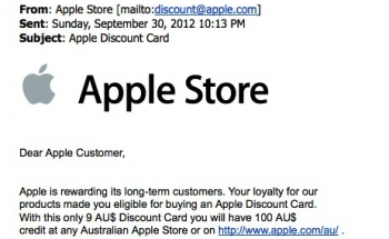 Wham bam crunchy scam: rotten Apple gift card fake!