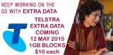 Telstra switching on 1GB for $10 'excess data blocks' for mobile customers