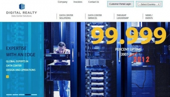 99.999% uptime at Digital Realty - again