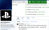 PSN and Xbox Live appear to be back up