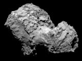 The Comet 67P/Churyumov-Gerasimenko as it appears on August 3. 2014.