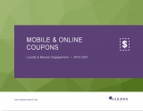Personalisation sees digital coupons growing 60% by 2021