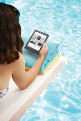 Kobo's Aura H2O: a roarer waterproof HD e-reader, due Feb 2015