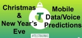 Telstra predicts 'record breaking mobile network traffic' during festive season