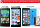Vodafone's budget friendly 4G mates: Lumia 640, 640XL, HTC M8s