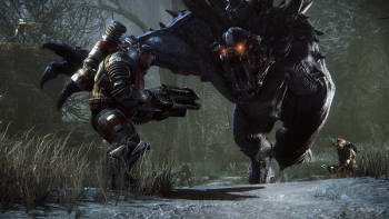 Hands On Preview: Evolve – four take on the monster