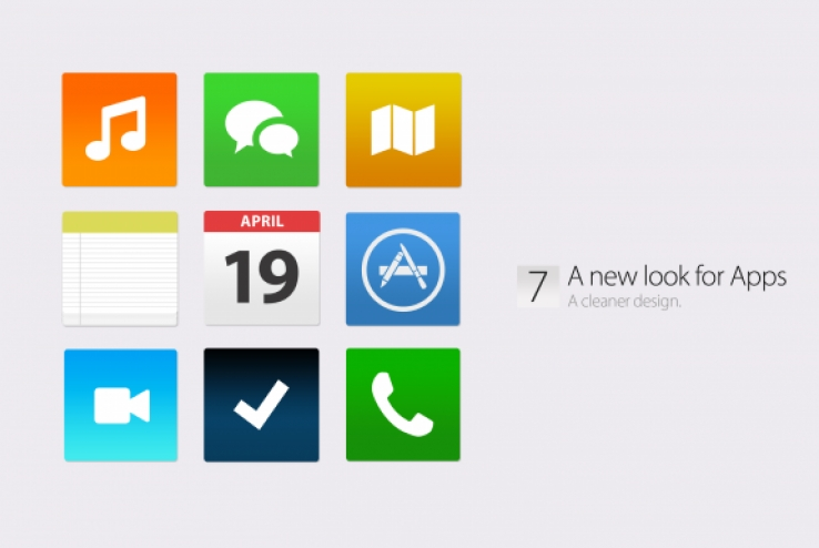 iOS 7 comes to life in new video