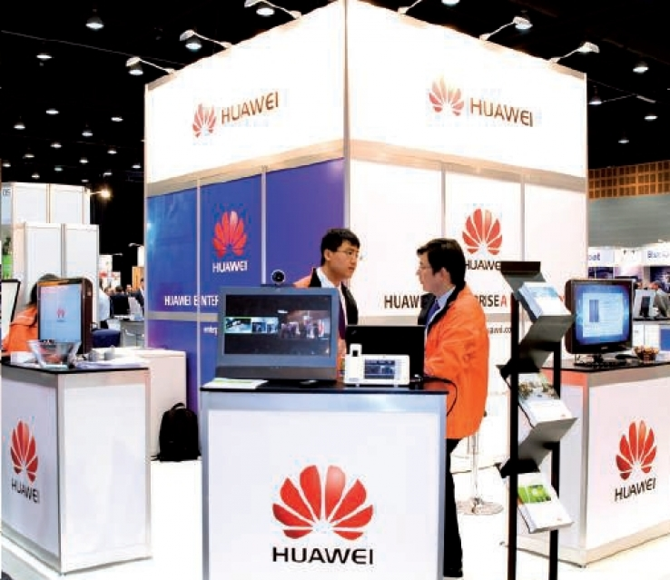 Huawei's stand at CEBIT 2012
