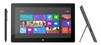 Microsoft's Surface Pro tablet with Win 8 Pro and stylus