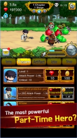 Review - Part Time Hero:Monster Mayham for Android