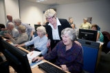 The auDA Foundation's grants to Australian Seniors Computer Clubs Association (ASCCA) have contributed to helping Australian seniors learn about the Internet.