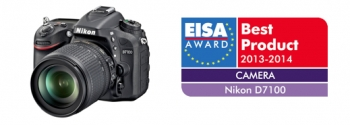 Nikon D7100 Digital SLR Camera Receives EISA Award