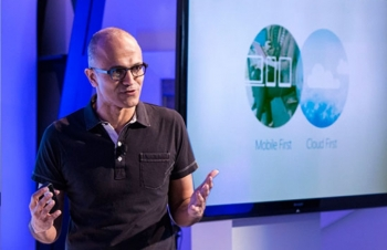 Nadella makes the announcement