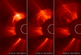 Coronal mass ejection on March 15, 2013