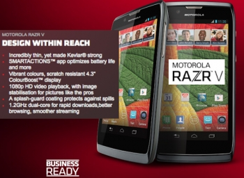Does it all start with the Motorola RAZR V?