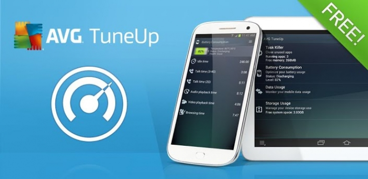 AVG TuneUp for Android runs free