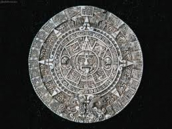 Maya calendar compared to old-fashion car odometer