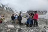Google's team at the base of Everest