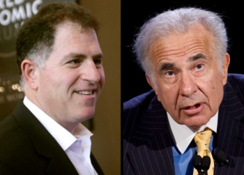 Michael Dell vs Carl Icahn
