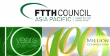 Asia Pacific FTTH reaches 100 million, no thanks to OZ