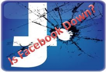 Facebook down – the world goes home