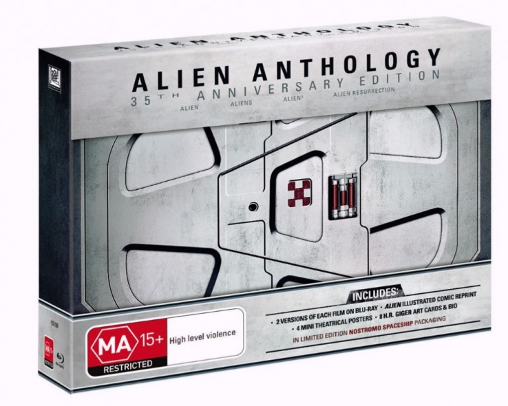 Alien – 35th Anniversary Blu-ray box set