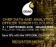 Chief Data and Analytics Officer Forum Melbourne: 5-7 September