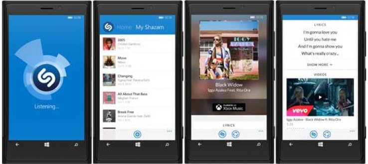 Shazam adds features to Windows phone app