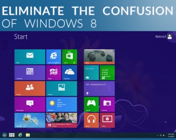 Stardock's $7.99 deal for Win 8 software, but is RetroUI better?