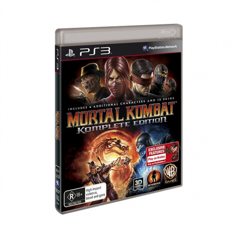 Banned Mortal Kombat on Australian streets