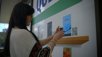 Co-op Bookshop co-ops PayPal to let students 'window-shop' via QR codes