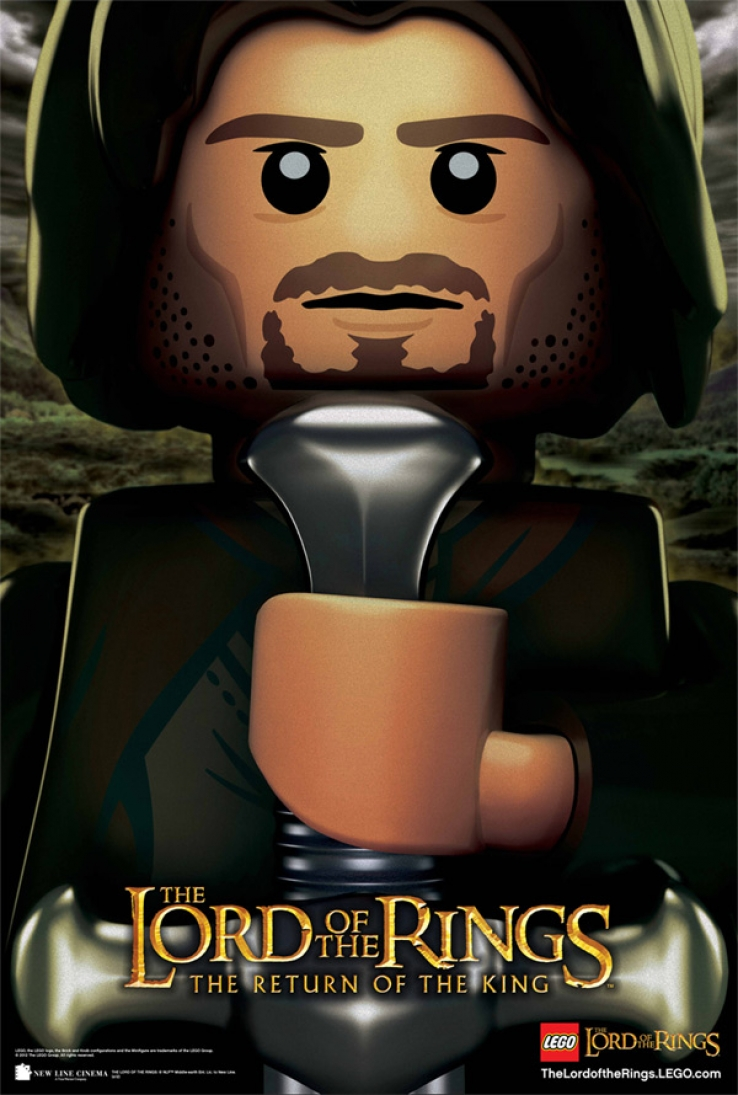 Trailer Time: LEGO The Lord of the Rings